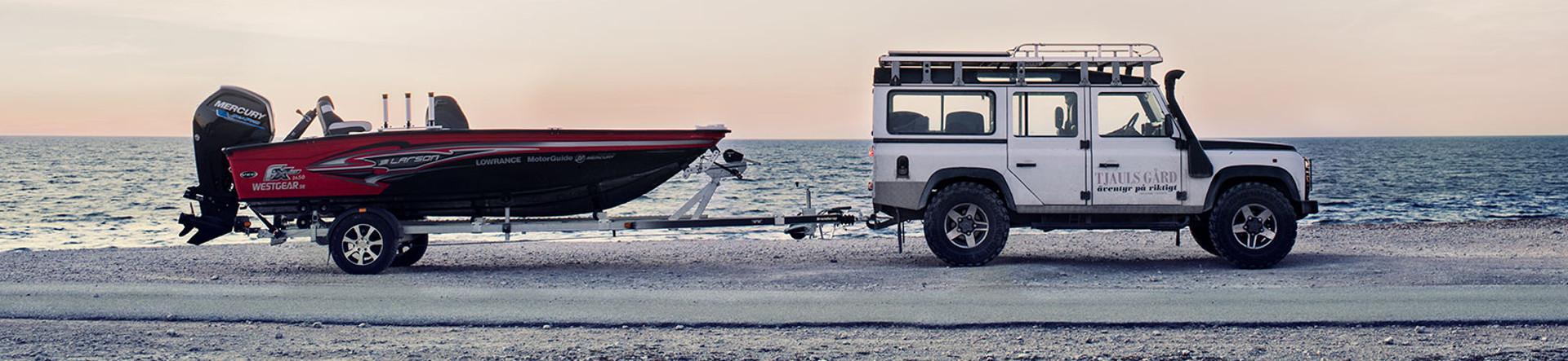 Båtvagnar från Brenderup