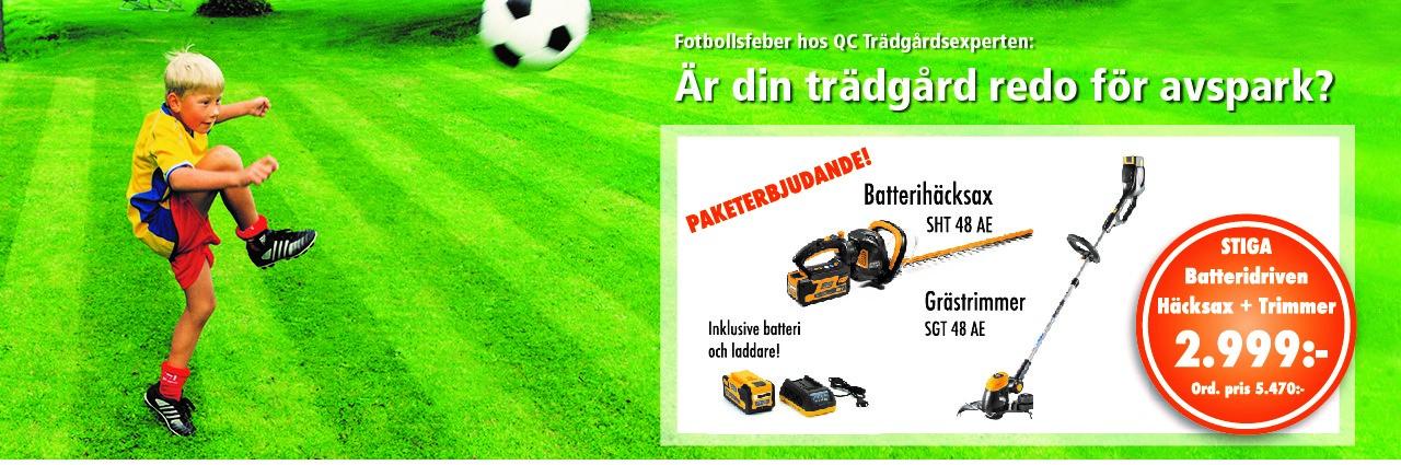 VM-kampanj för din gräsmatta