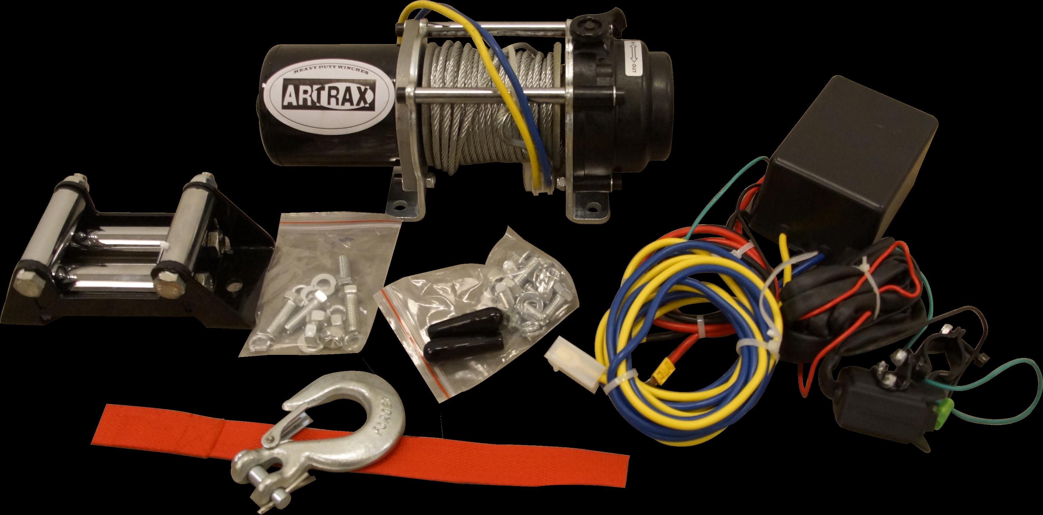 Artrax Winch 1500 Steel