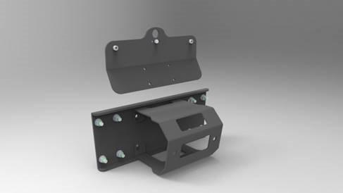 Rear winch mount kit, CFORCE 550/600