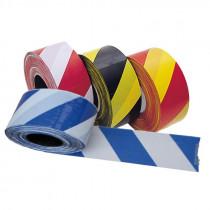 Avstängningsband PE-plast Tvåfärgat 500 m