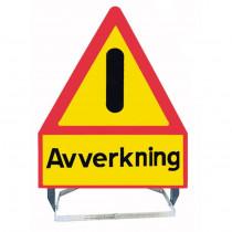 VARNINGSSTÄLL AVVERKNING