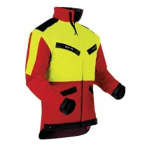 Jacka gul/röd Pfanner KlimaAir Forest