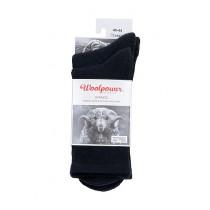 Socks 2-Pack Classic Logo+Liner Black stl 47