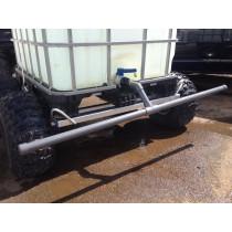 Spridarbom till vattenvagn