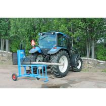 PW vedmaskin traktordriven