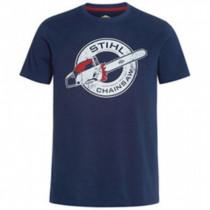 Stihl, T-Shirt Contra Mörkblå