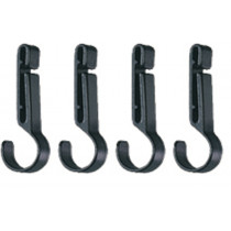 4 CROCHLAMP HEADLAMP CLIPS