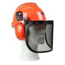 Säkerhetshjälm med hörselskydd
