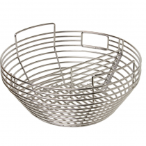 Classic Charcoal Basket with Divider