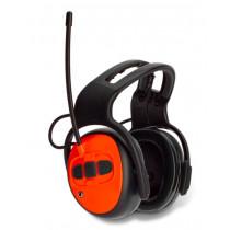Hörselskydd med FM-radio, Hjässbygel