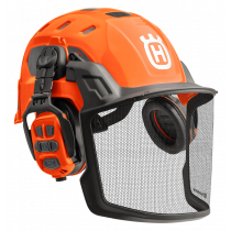 Husqvarna Hjälm Technical fluorescerande Bluetooth