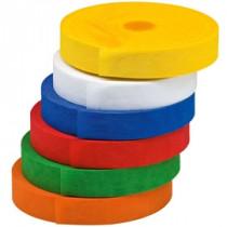 Märkband, 65 m, olika färg och bredd