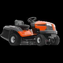 Husqvarna TC 138L Traktor, Uppsamlare